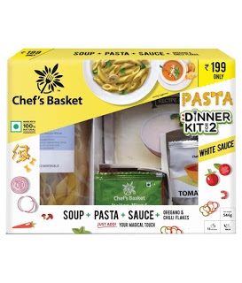 buy chefs basket white sauce pasta and get bms vouchers