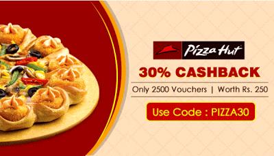 crownit-pizzahut git voucher cashback-offer-loot