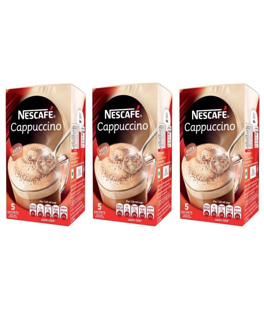 nescafe cappuccino offers