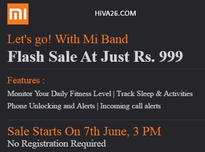 buy mi band at 999rs hiva26