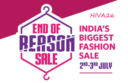 myntra end of reason sale offers hiva26