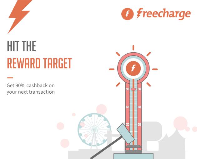 Freecharge 90 Cashback Using Freecharge Balance