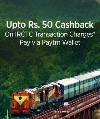 irctc paytm cashback offer hiva26