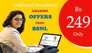 BSNL Unlimited Broadband Plan offers loot hiva26