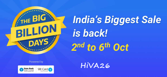 flipkart big billion days october 2016 offers hiva26