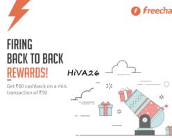freecharge cashback offer using freecharge balance