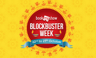 BookMyShow Blockbuster Week offers hiva26