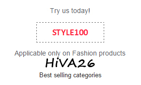 snapdeal promocode 100rs off on 500rs hiva26